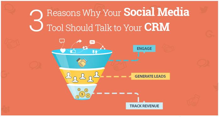 Spreekt uw Sociale Media Tool met uw CRM?  3 Redenen waarom het dat wél zou moeten doen.