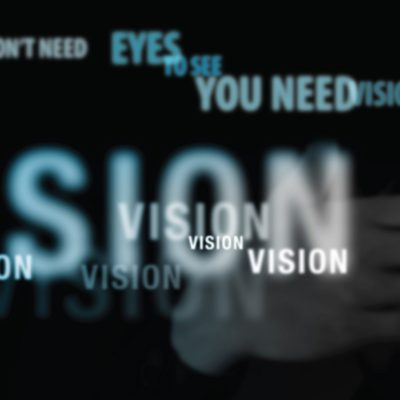 CRM: You don't need eyes to see, you need vision!