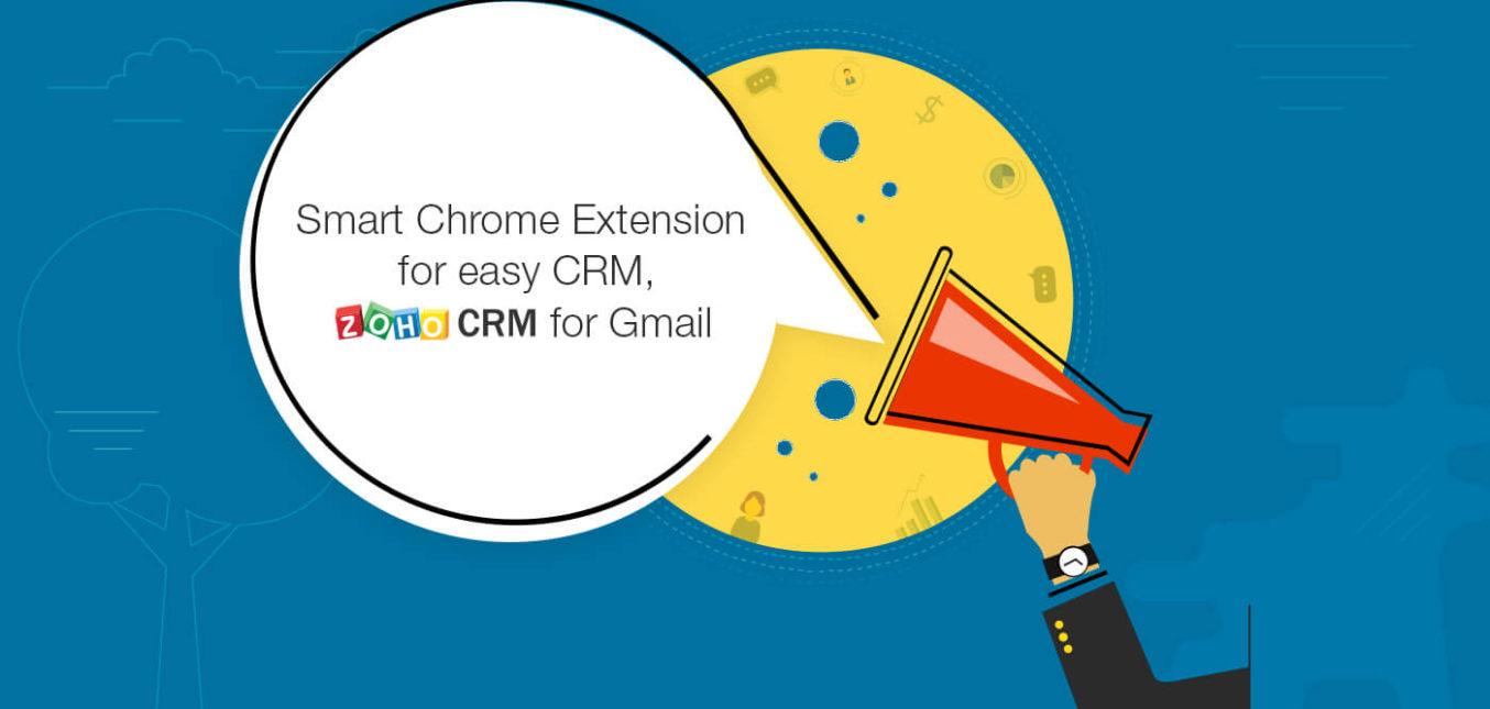 Bundel de kracht van uw Zoho CRM-account met Gmail